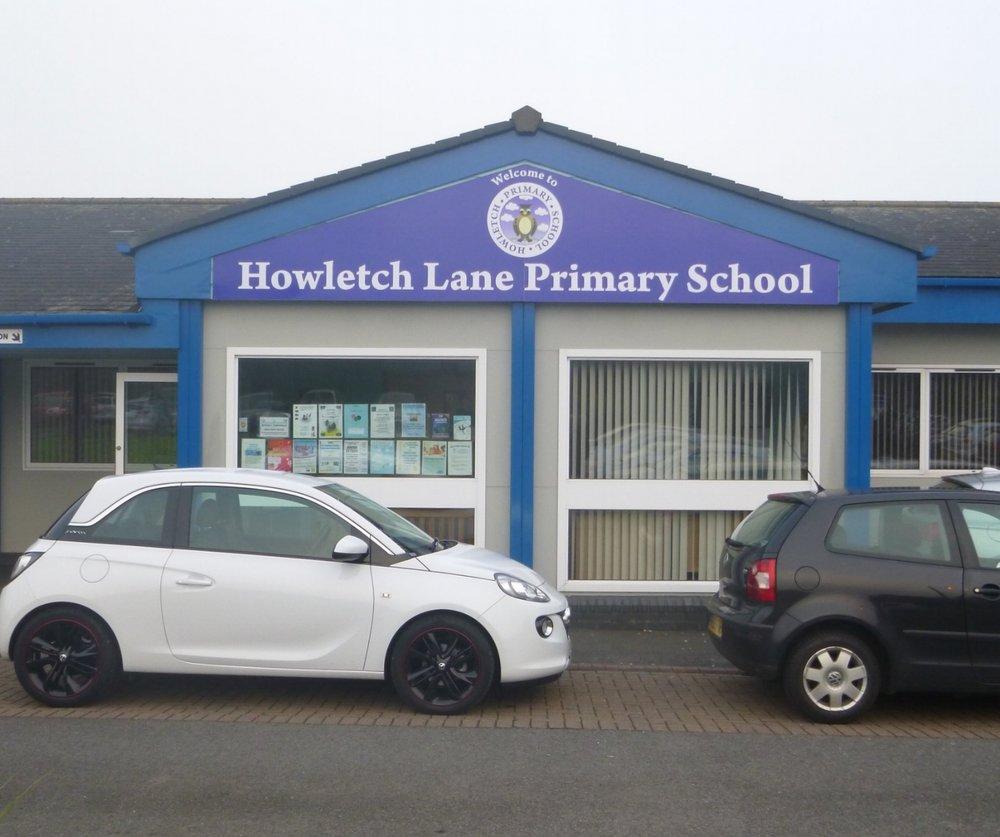Howletch Lane Primary Dibond Fascia Sign