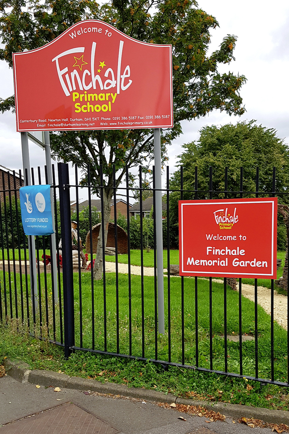 Finchale Primary Post Sign