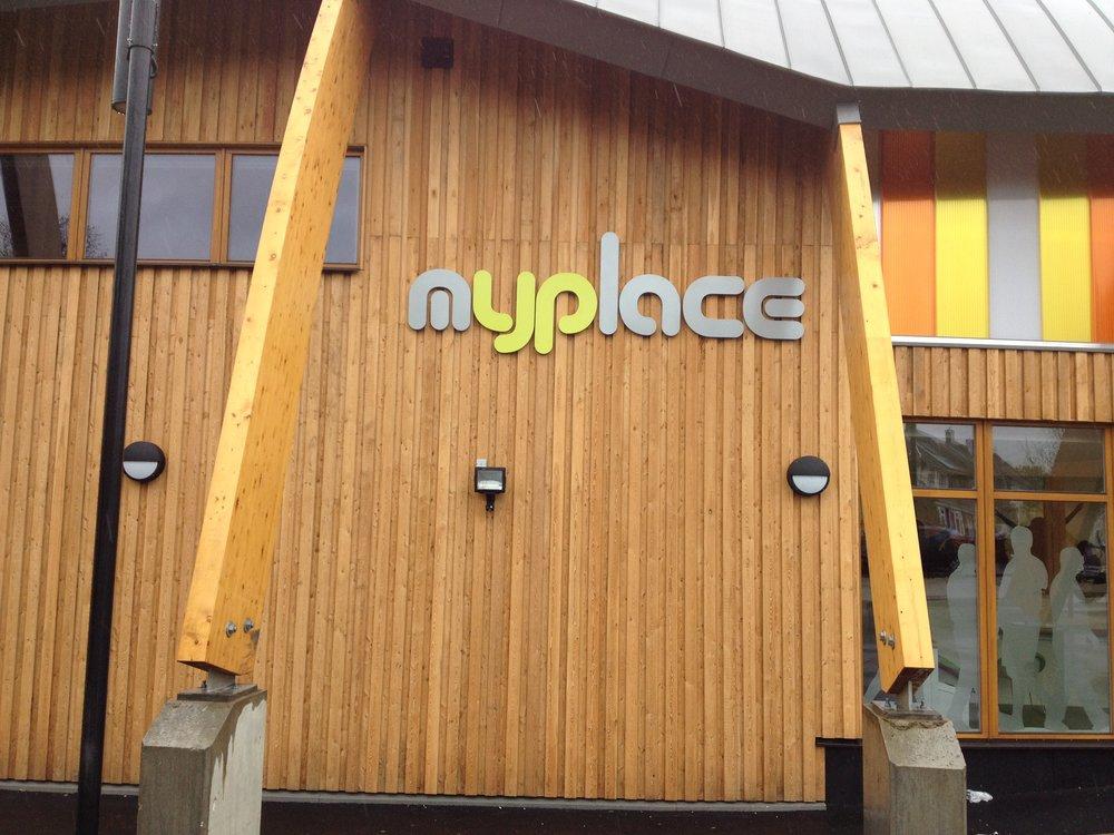 Myplace External Built up 3D Letters