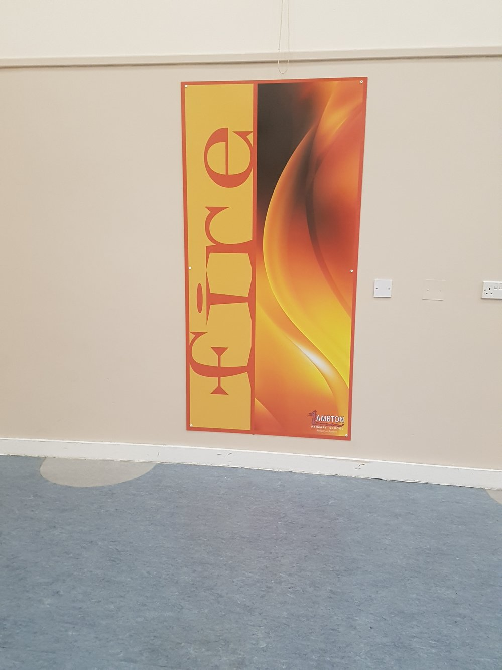 Internal Foamex Sign