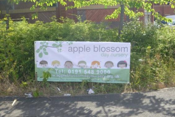 Apple Blossom Nursery External Banner