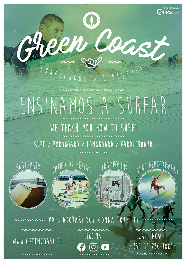 #GreenCoast SurfSchool #ensinamosasurfar #summercamps #weteachhowtosurf #surfschool #espinho #surfespinho #espinhosurfdestination
