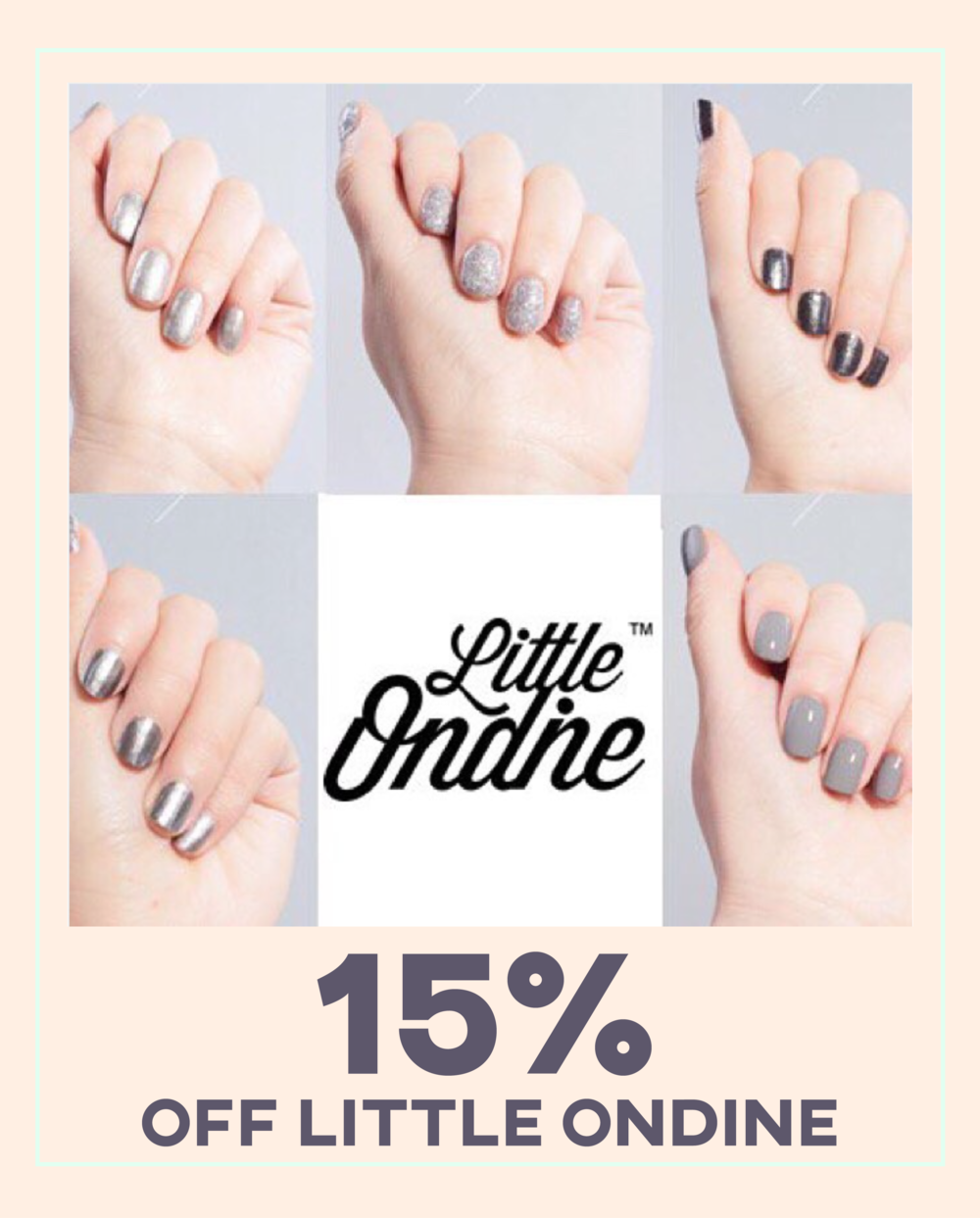 little ondine cruelty free vegan nail varnish discount
