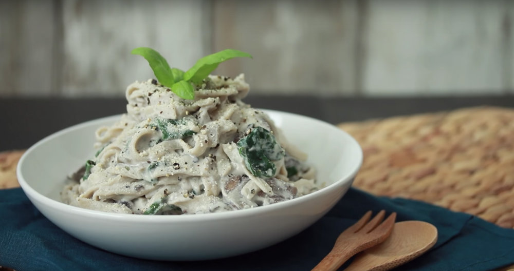 Screenshot: Hot For Food's Fettucine Recipe