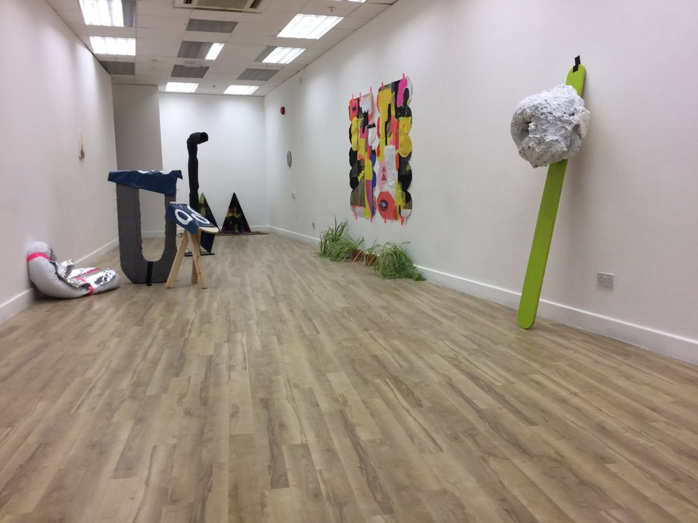 Witchcraft for club kids, installation at ArcadeCardiff. 2017