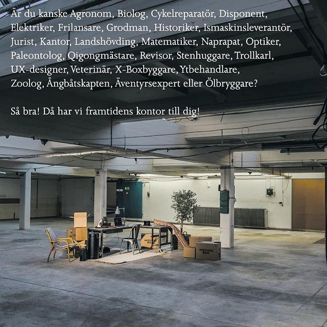 Framtidens kontor i Ulricehamn. Vi vill även fylla Kvarter Väveriet med andra upplevelser. Enda begränsningen är fantasin. Hör av dig till oss om du har en idé du vill förverkliga.  #kvarterväveriet #kvartervaveriet #kontor #ulricehamn