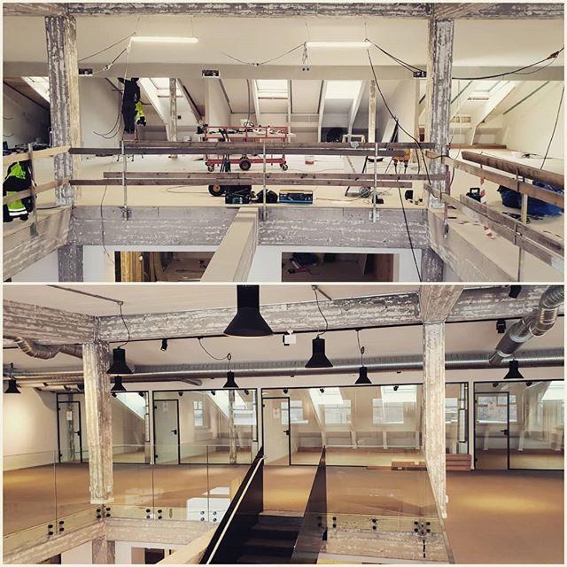 Så här gör vi när vi bygger nya lokaler på Kvarter Väveriet. #kvarterväveriet #kvartervaveriet #lokaler #ulricehamn