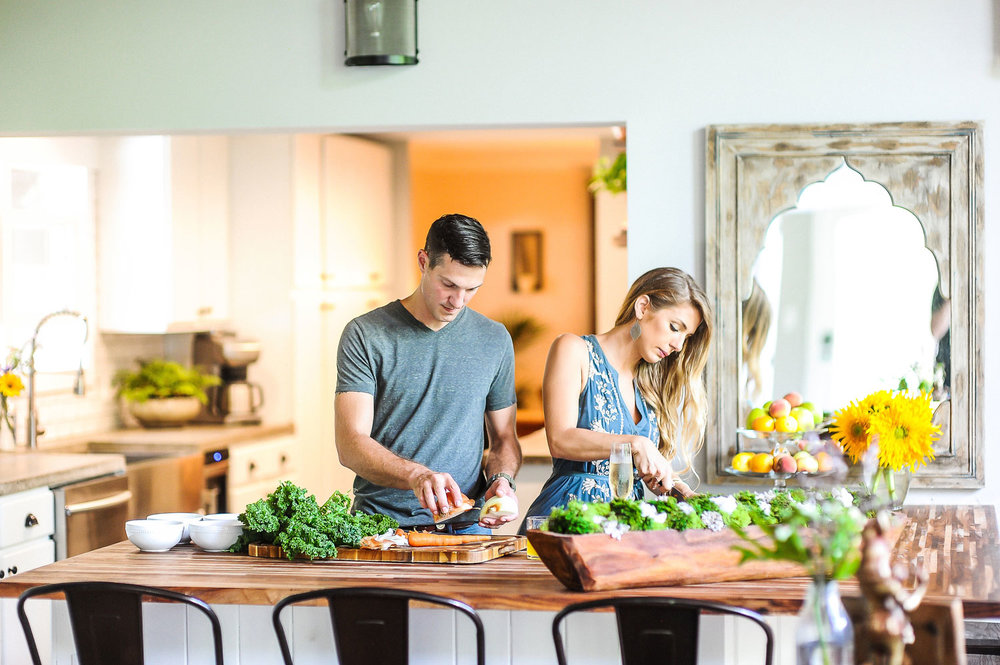 Farm to table dinners asheville retreat