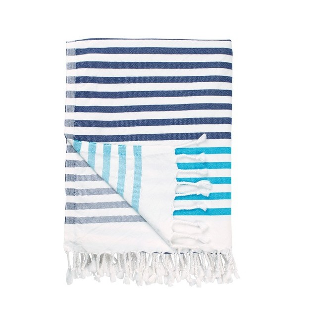 Lighter than your average towel,  hammam towels  are as great for impromptu beach trips as they are for picnics in the park.