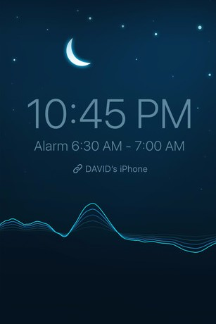 Sleep Cycle  makes it easier to get out of bed. By tracking sleep patterns, the intelligent alarm wakes users when coming out of REM so they feel most rested and refreshed.