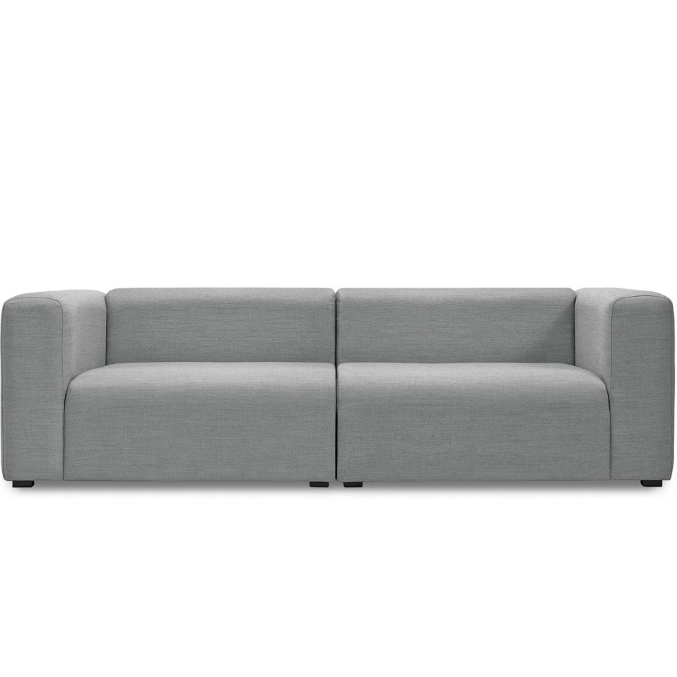 Optimum lounging comes by way of the  Mags 2.5 seater sofa , designed by HAY, big believers in sustainable design at affordable prices.