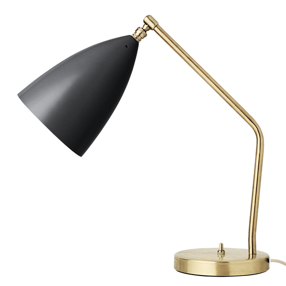 Calming lighting is an essential living room consideration. Turn off the big light and turn on the brilliantly named  Grashoppa  table lamp.