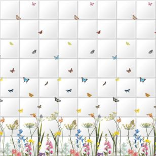 Surface View print any image onto ceramic tiles, like this from the  Ella Doran  range.