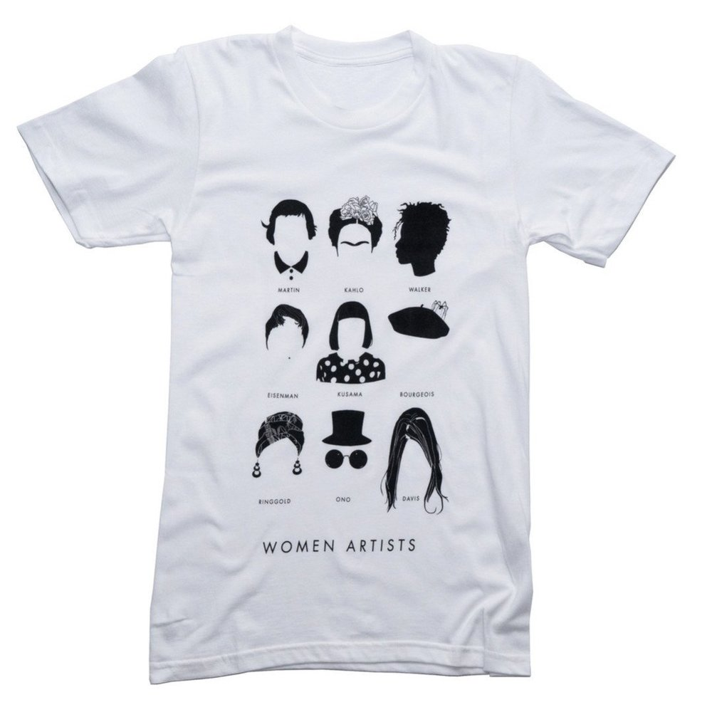 What could be better than  wearing the silhouettes  of Frida Kahlo and Yoko Ono? Donating to PP and ACLU, probably.