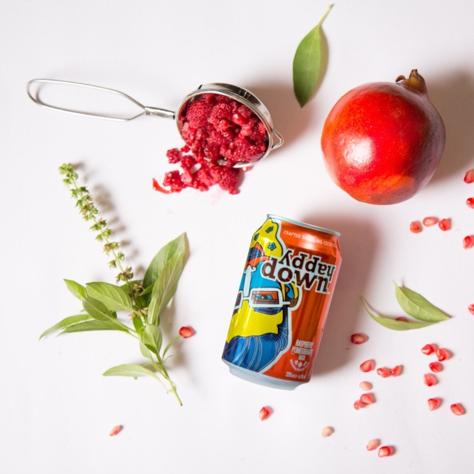 Canned, craft cocktails from British brand  Happy Down