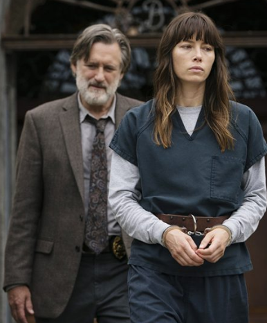 - Stop firing up Netflix, flicking about for a bit and then closing it. The Sinner is an extraordinarily chilling series centring on a young mother who brutally kills someone in public and has no idea why she did it. Jessica Biel is encapsulating in the lead role while Bill Pullman's world-weary, heavily flawed but ultimately kind-hearted cop, is a career best. TV doesn't get less Valentinesy than this. Watch here.