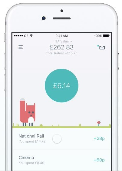 Feeling au fait with saving and got some dollah going spare? Next stop = proper grown up investment. Moneybox rounds up your purchases to the nearest pound and invests the change.