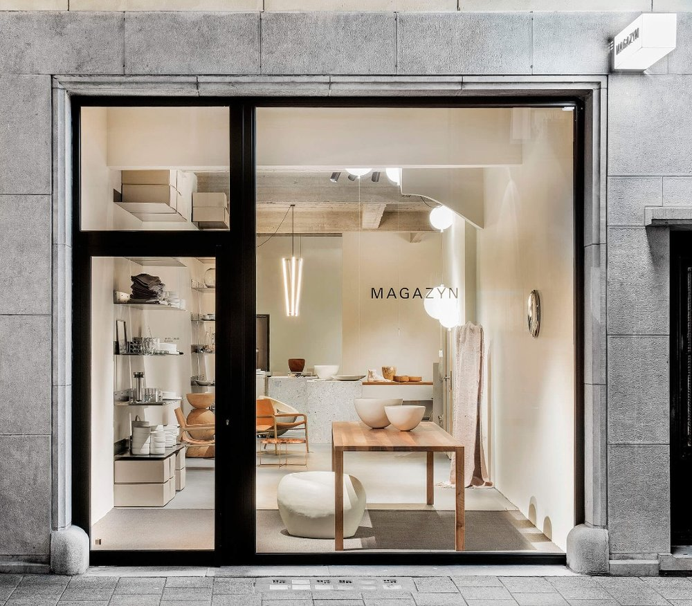 Shop // Magazyn - Magazyn is a chic interiors shop that is about as close to a museum for minimal living as you can get without paying an entrance fee. White walls, concrete floor and covetable everything in between, from ceramics to cutlery, linen and lighting. Okay, so you probably won't be buying any furniture whilst in Antwerp. But maybe splash out on hold luggage on the return flight for everything else in there.