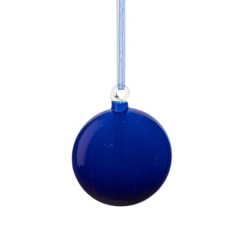 Blue bauble - £8 Heal's