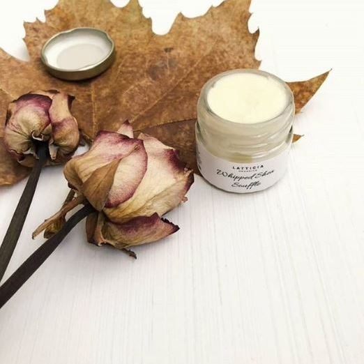 Lovely, local,  Latticia Organics  has been making waves with their Whipped Shea Soufflé.   The minis (£7.50)   are perfect for gifting.