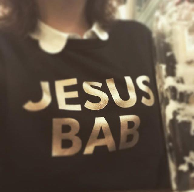 Another newbie independent is  Punks and Chancers . Get their latest festive edition, a   Jesus Bab sweater (£60)  .