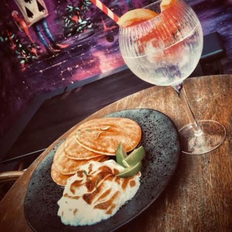 Until Friday, get your crêpe on at   The Jekyll & Hyde   served with The Jekyll's own creation—Gin & Tonic Chantilly cream. Proceeds go to charidee.