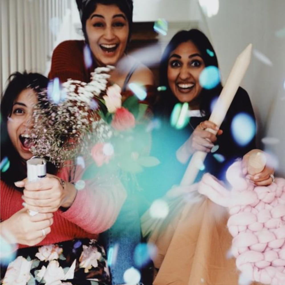 - Insta queens Rida and Rabya set up Gxlentines as a place for women, non-binary and gender fluid Instagrammers to meet up IRL. Their event on Saturday promises to be full of our favourite things; food, music, chats and poetry. And even if you're not on the 'gram, you're still welcome. Winner! Tickets are £20 with some availability to pay less if you need to.