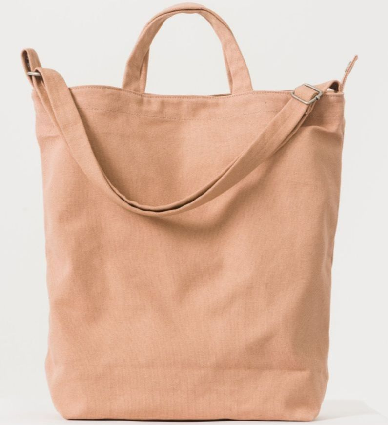 Kin Home do more than homeware, y'know. Like this   Baggu bag  , which might  technically  be tan