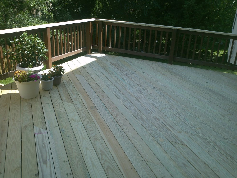 Deck surface replacement - Catonsville, MD. 21228Click here for more photos: