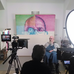 John Reuter interviews photographer Chuck Close