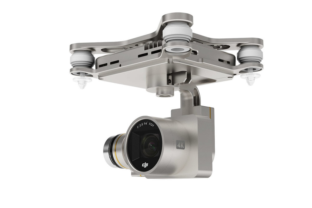 DJI Phantom 3 4K Camera and Gimbal