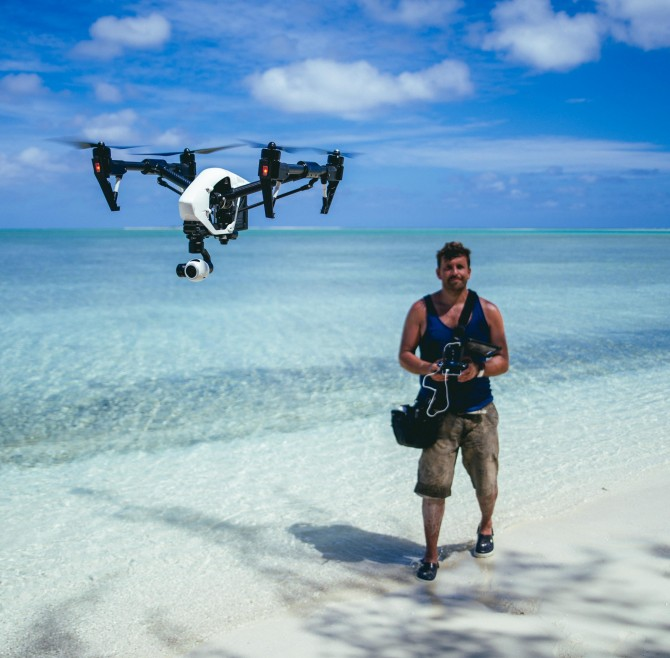 Philip Bloom with DJI Inspire 1