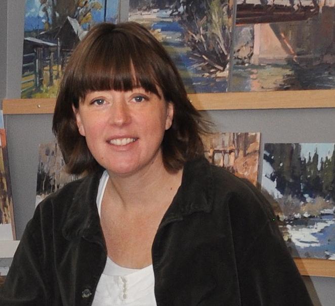 Fine Art Painter Jill Carver