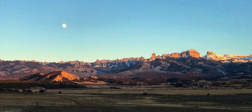 Cimarron Ridge just outside of Ridgway, Colorado.