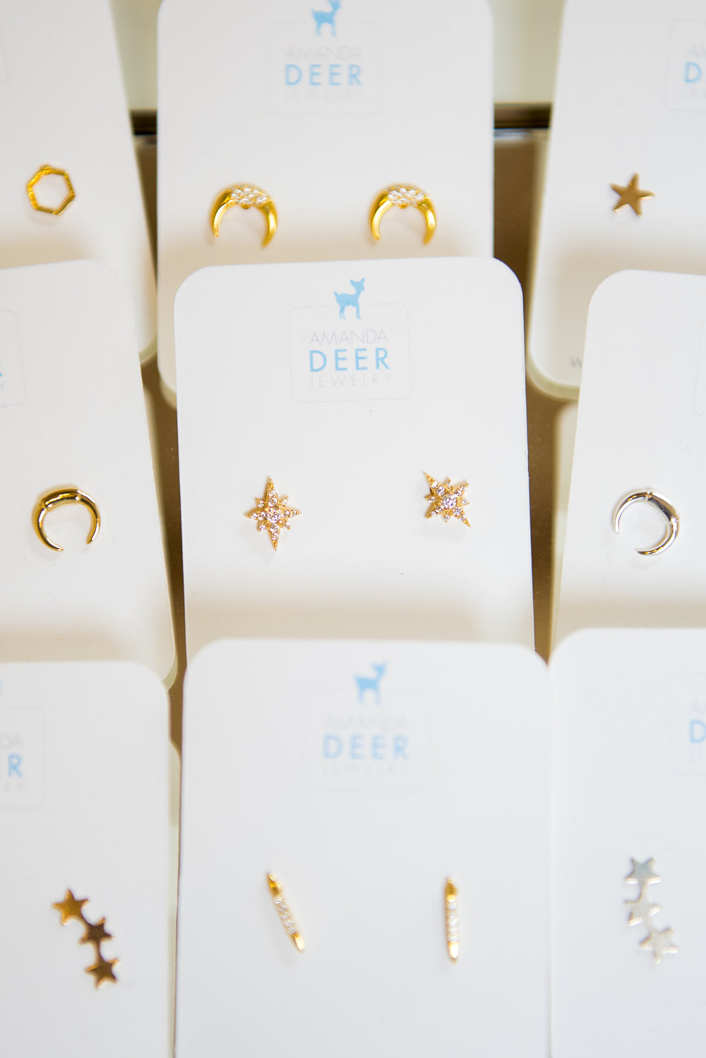 Delicate Amanda Deer earrings