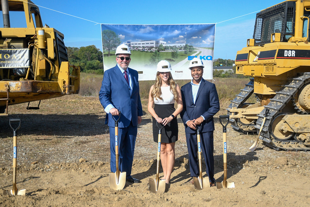 LKQ Groundbreaking for their new North American Corporate Headquarters.