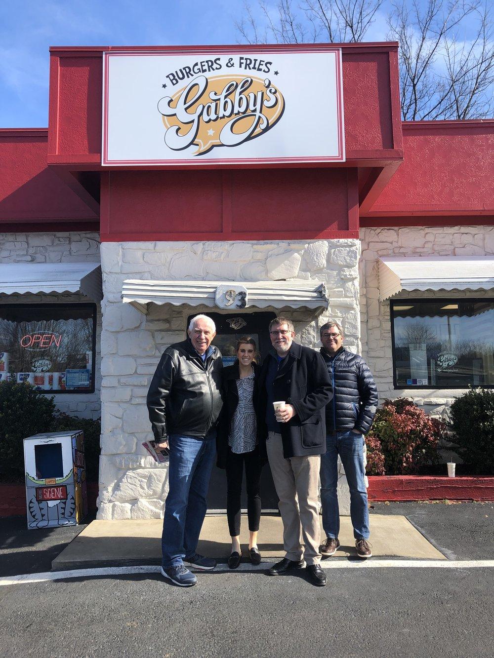 """Gabby's Restaurant """"Living the Dream"""""""