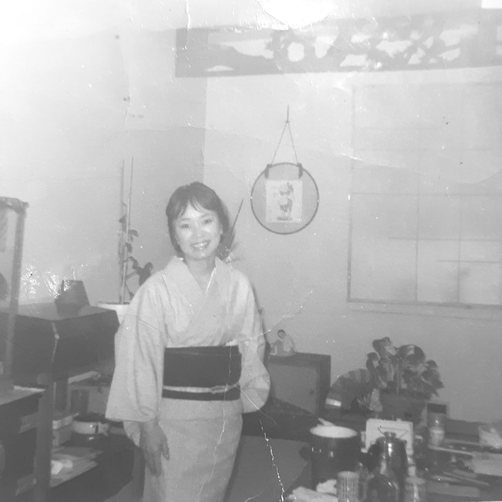 Kaisan in our home in Brooklyn - Before I was there!