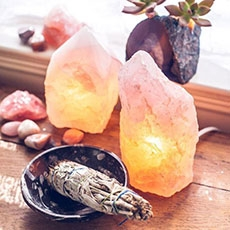 I love Salt. - Whether it's saltwater, salty foods, or my latest obsession: Himalayan Salt Lamps.