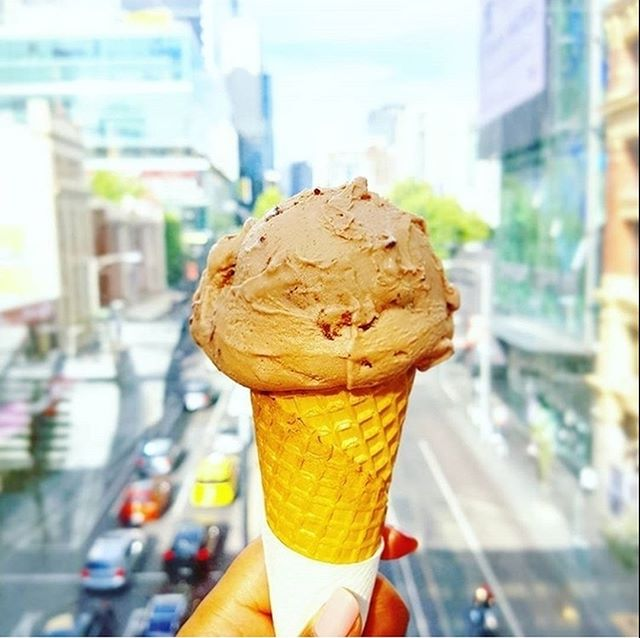 The perfect sweet fix at any time of the day/year. Great shot of our Ferrero Rocher gelato by @thebrunchfiend #gelato #sweettreat #sweet #treat #delicious #yum #tasty #melbournegelato #ferrerorocher #7apples