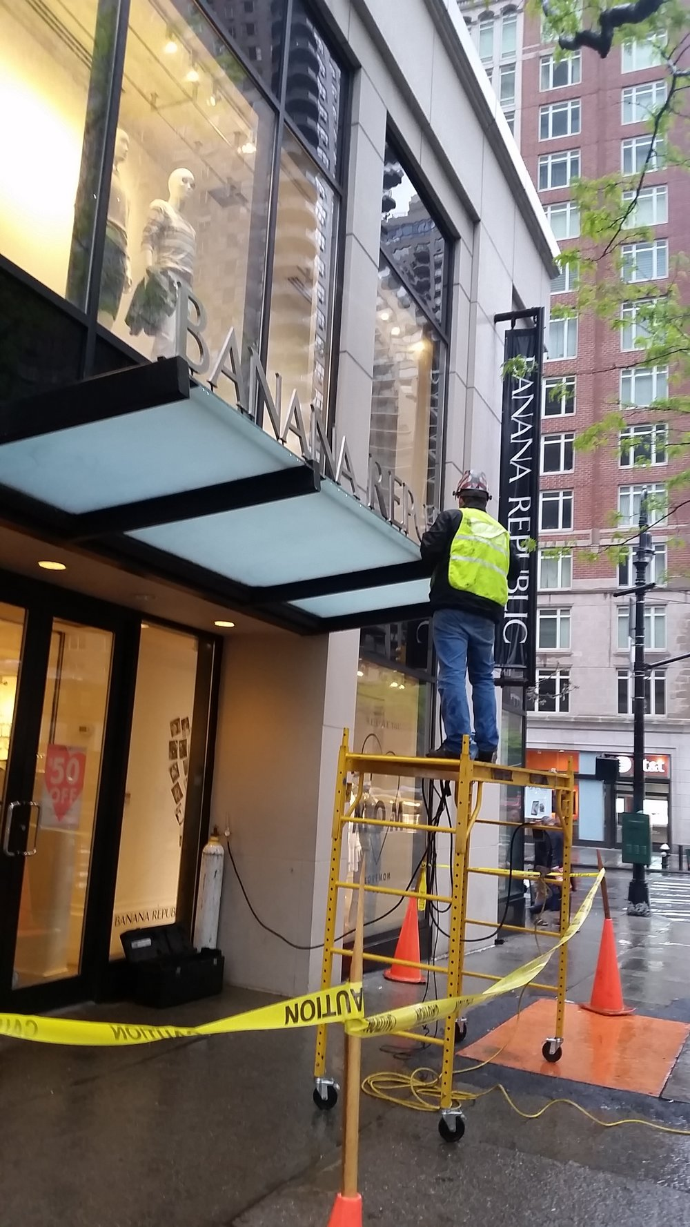 Sign Repair (NYC)