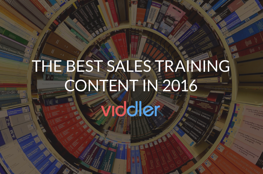 The Best Sales Training Content in 2016