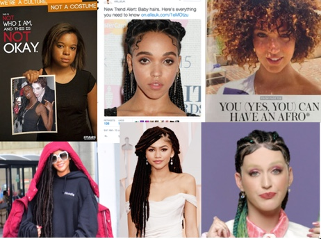 Looking at recent stories in the media where black hair [styles] have been stigmatised
