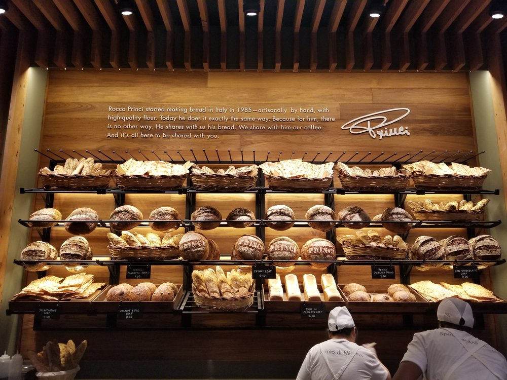 20171107_070613 Bread display at Princi.jpg