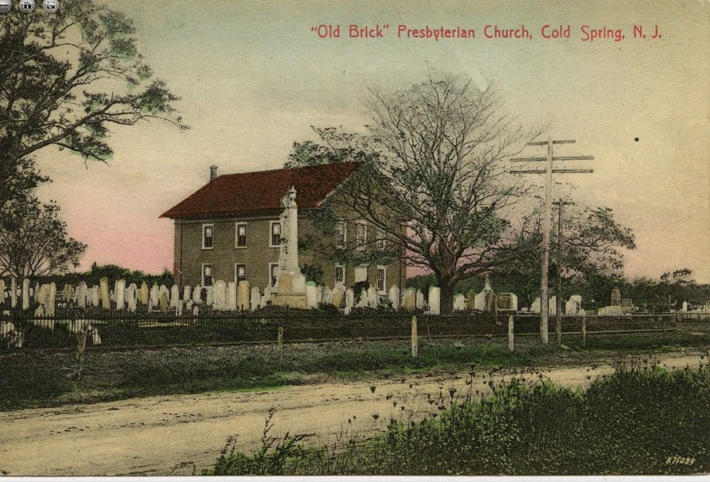 From the early 1900's, Cold Spring Church was always on the main road, in the middle of community life.