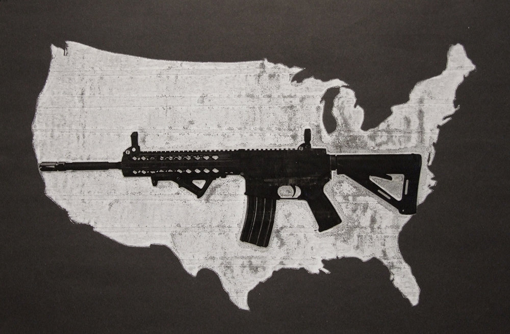 Contiguous States (Black)
