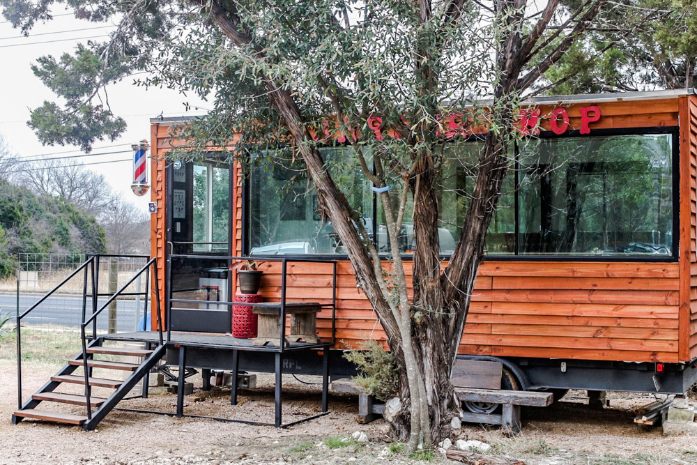 Mobile Barber Shop by RLPolanco. South Austin
