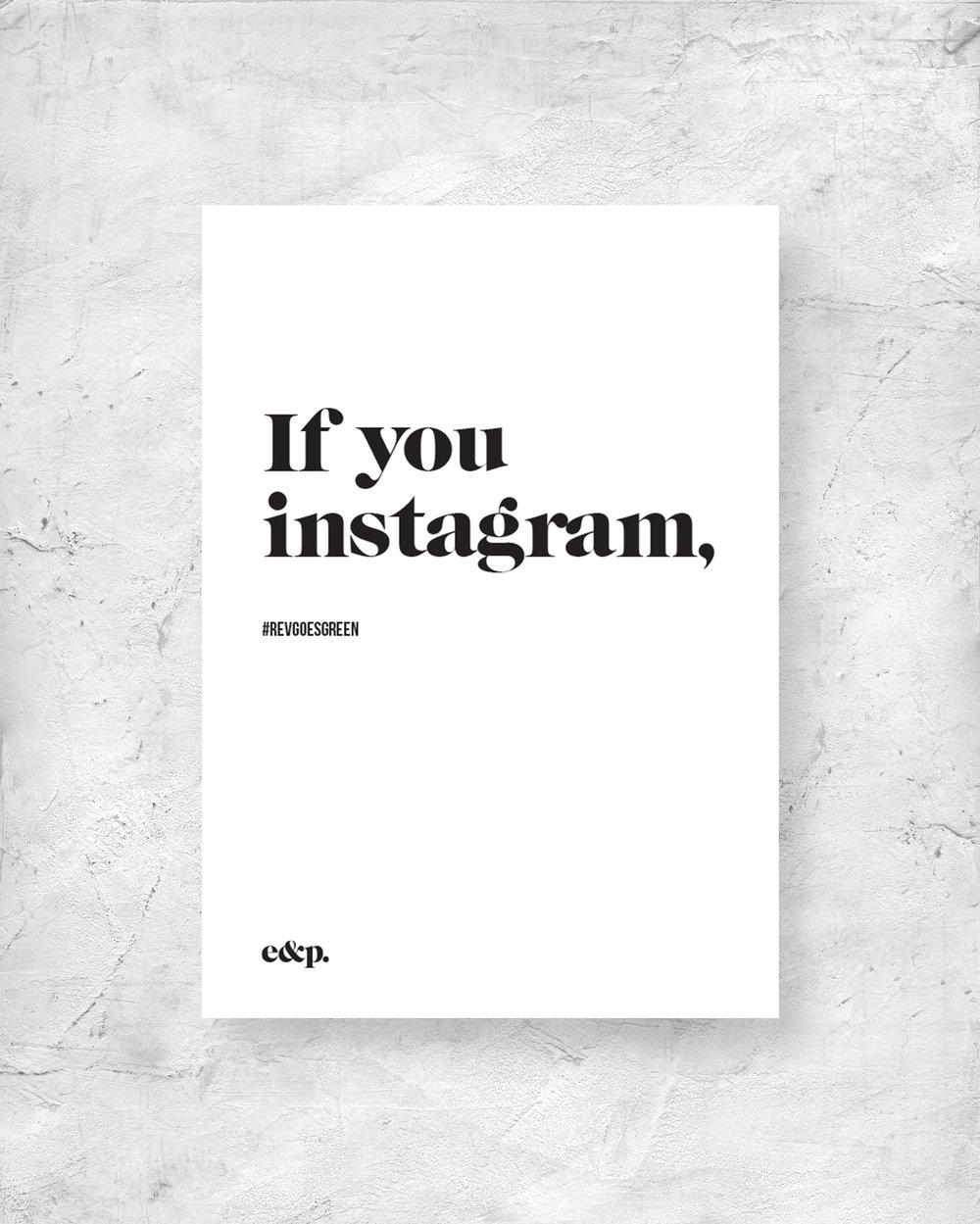 Instagram Signage