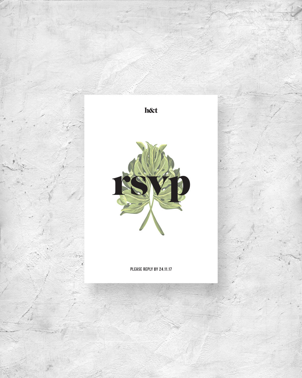 RSVP Card II - Front