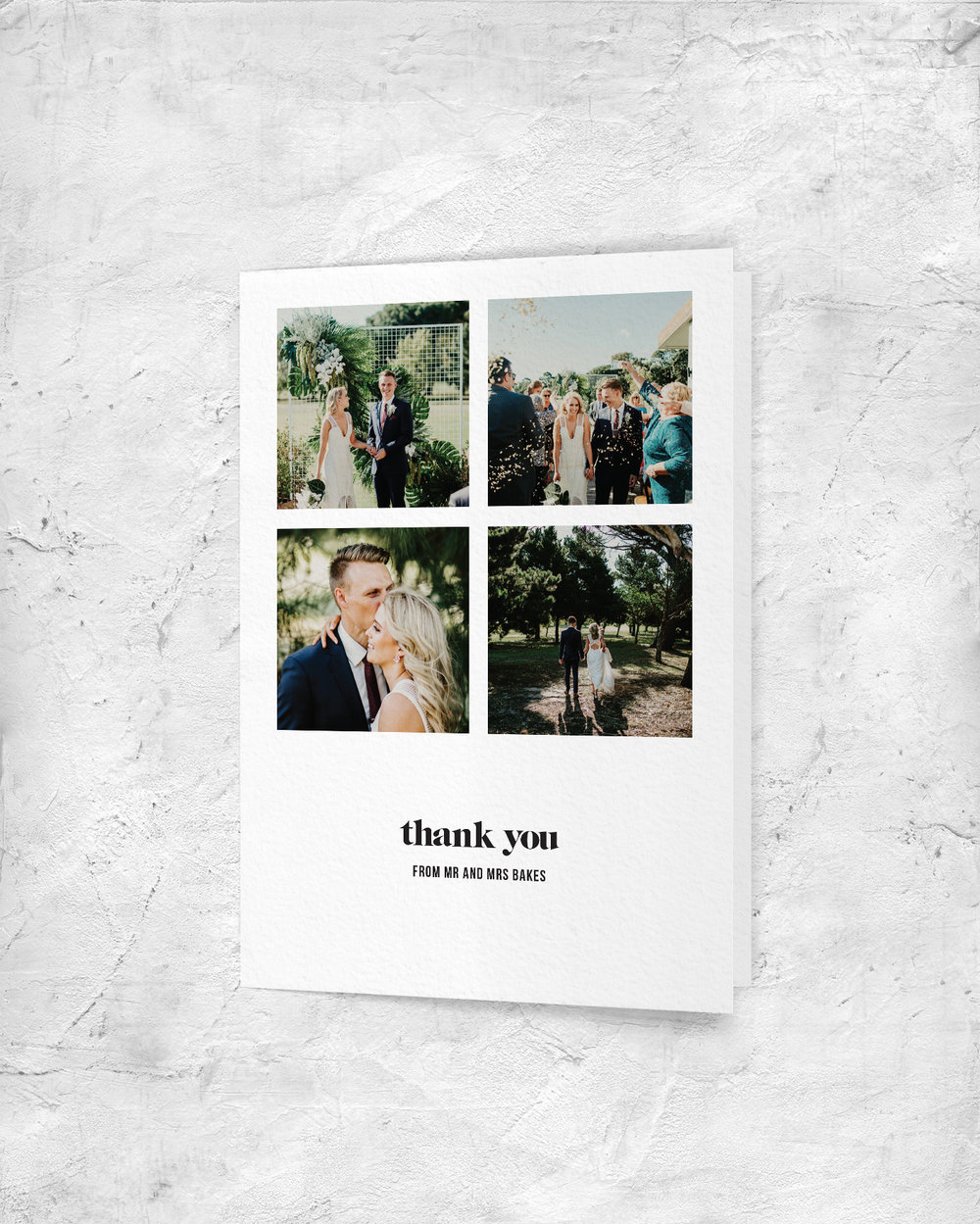 Thank You Card - Front
